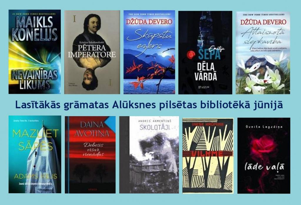 Lasītākās grāmatas vasarā